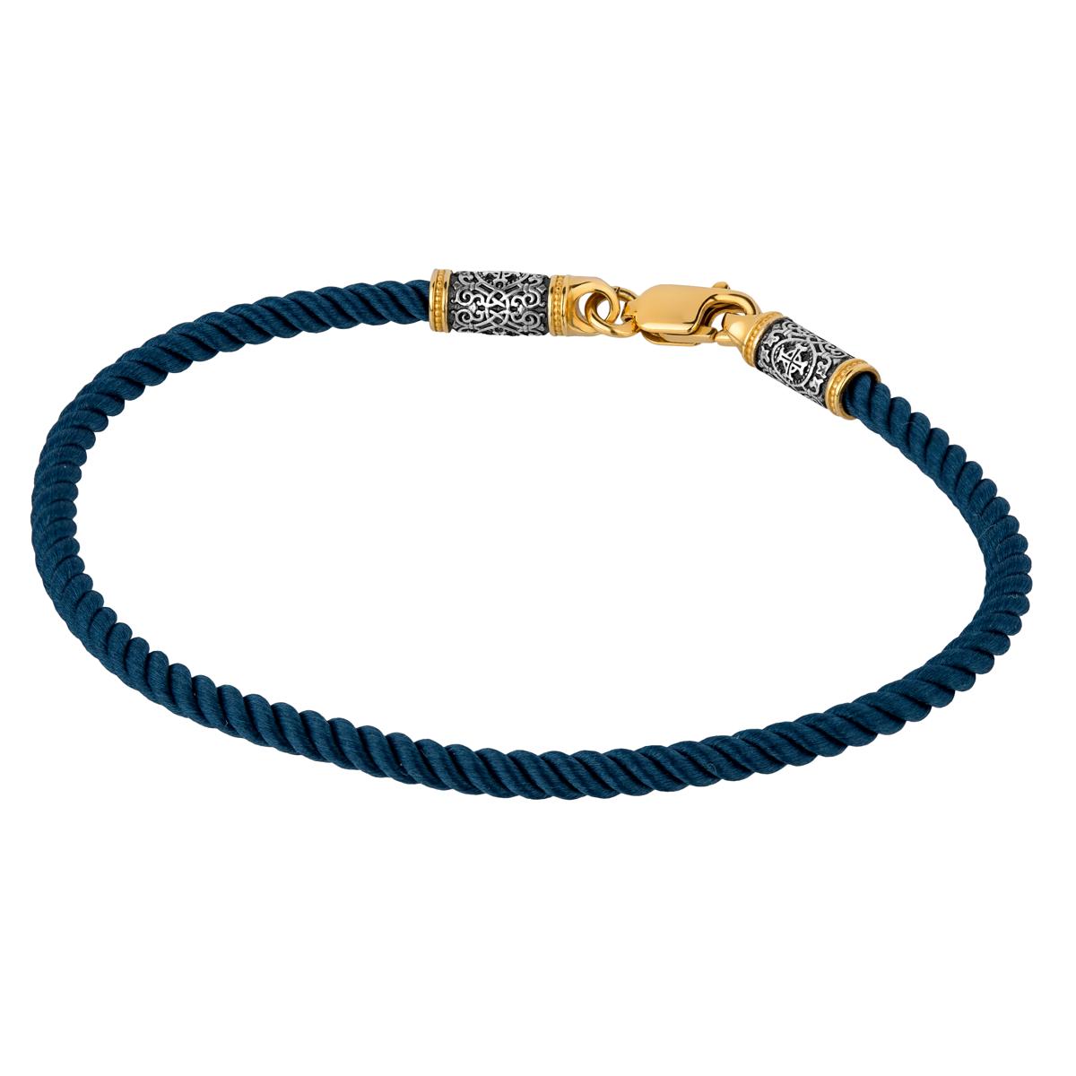 Шнурок текстильный, браслет 05.396-текстиль