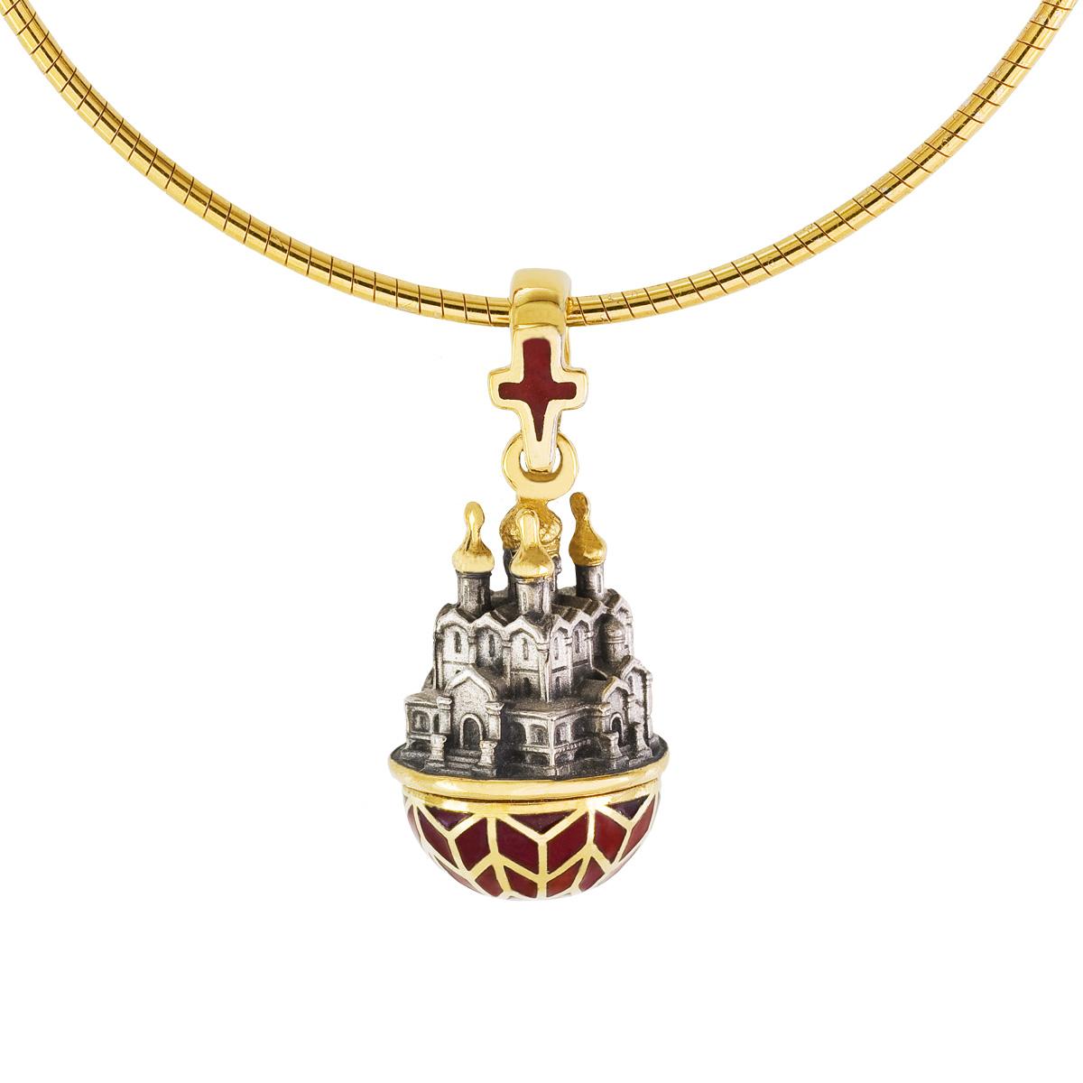Пасхальное яйцо Успенский кафедральный собор города Ярославля 07.064